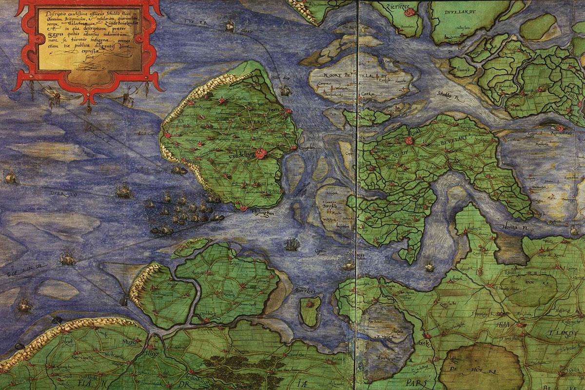 Het Eiland Wulpen En De Verdronken Dorpen Van Zeeland