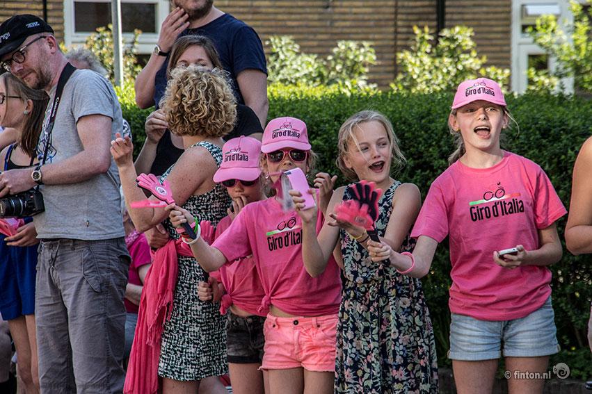 Sfeer Proeven Bij De Giro D'Italia In Arnhem