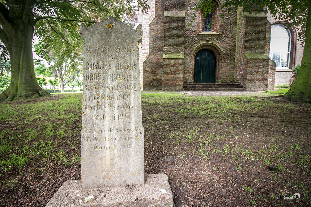 Een Grafsteen In Wemeldinge